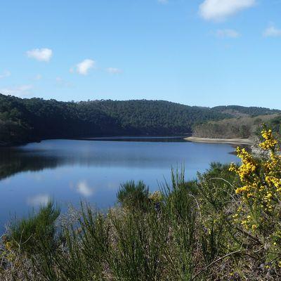 L'Assec du Lac de Guerlédan au fil des jours