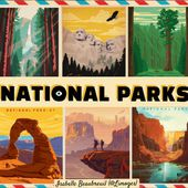 American National Parks by Isabelle Beaubreuil on Genially