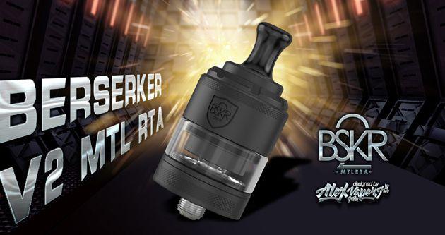 Test - Atomiseur -  Berserker V2 MTL RTA de chez Vandy Vape