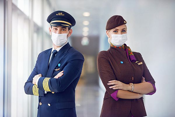 All of Etihad Airways' operating pilots and cabin crew are vaccinated against COVID-19 aerobernie