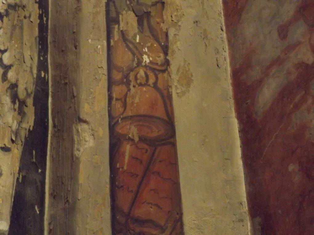 Quelques exemples que l'on peu voir dans des chapelles de la cathédrale d'Albi