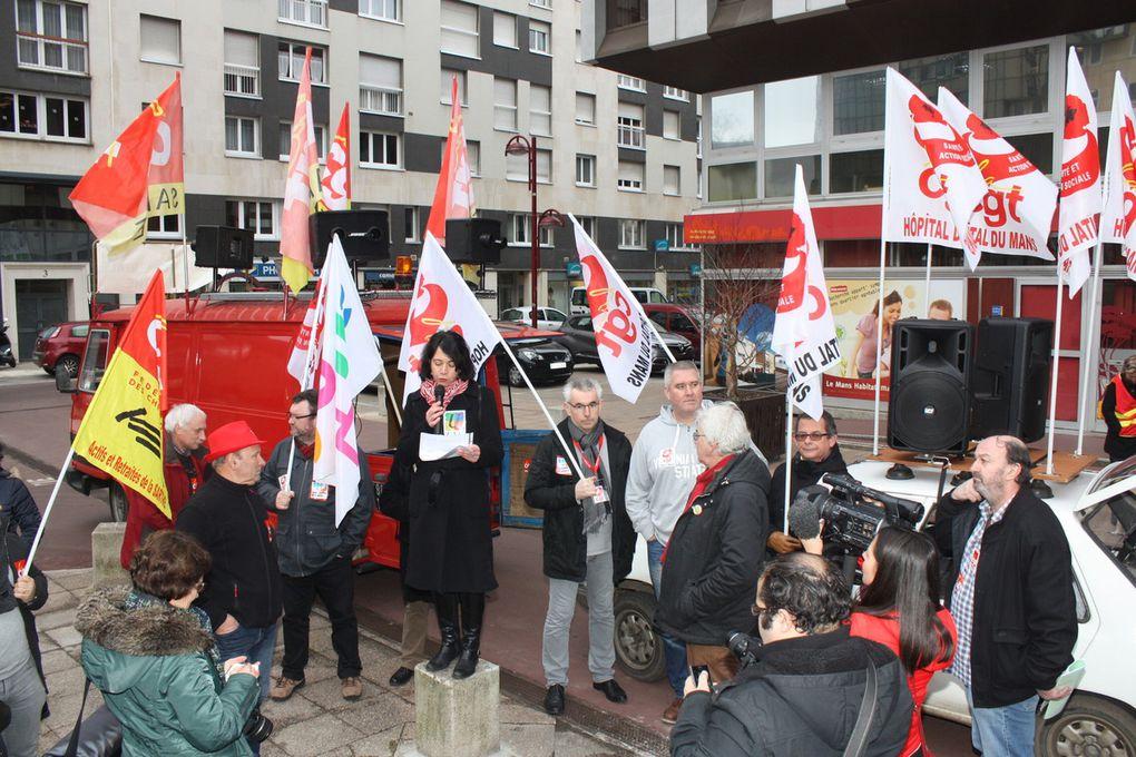 2000 manifestants dans les rues du Mans (journée nationale d'action dans la fonction publique)