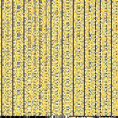 feuille Les pois jaune/grisFée du Scrap
