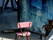La photo du jour - En bleu et rose sur le port de La Turballe