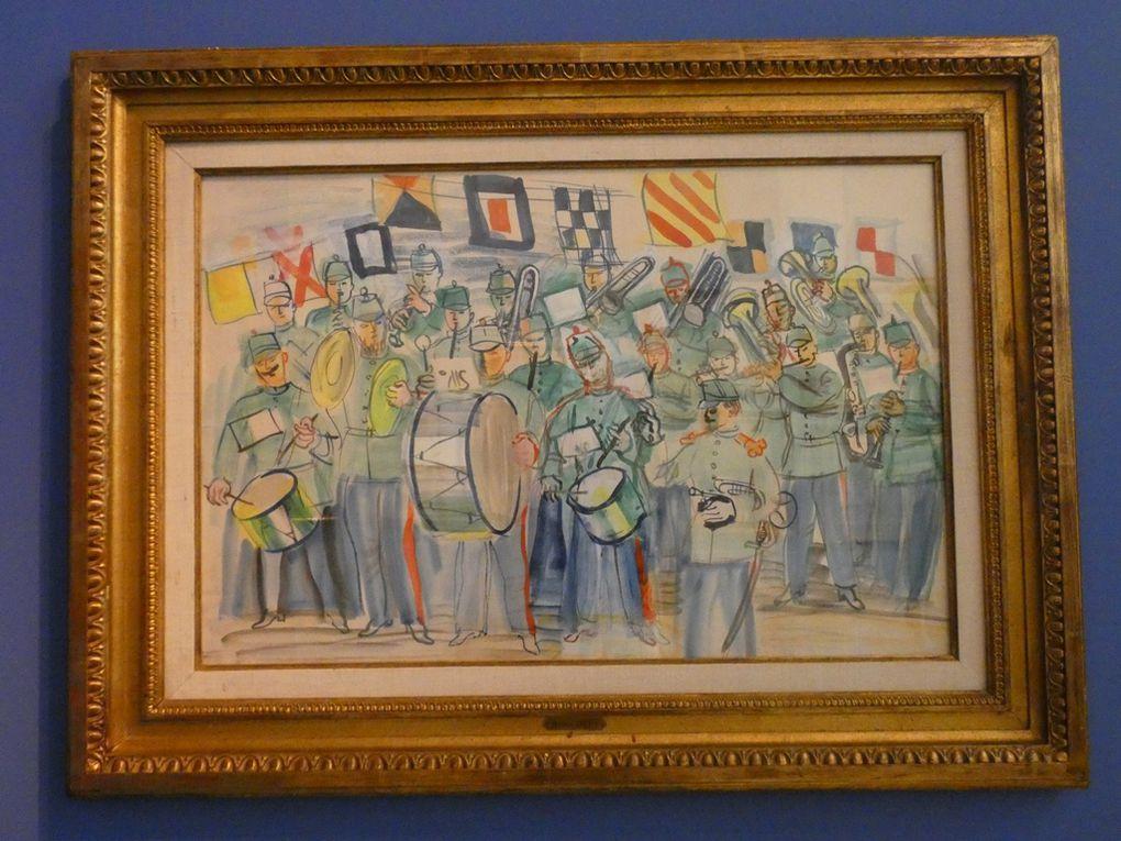Raoul Dufy est plaisir, tout l'été, aux Beaux-Arts de Quimper
