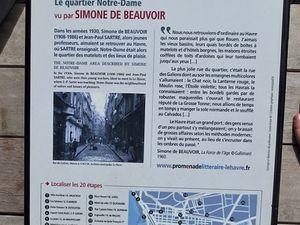 Promenade littéraire et artistique au Havre