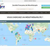 Carte interactive geolocalisee des Medecins Docteurs Praticiens de la SFM : Société Francaise de Mesotherapie - sfmesotherapie.over-blog.com