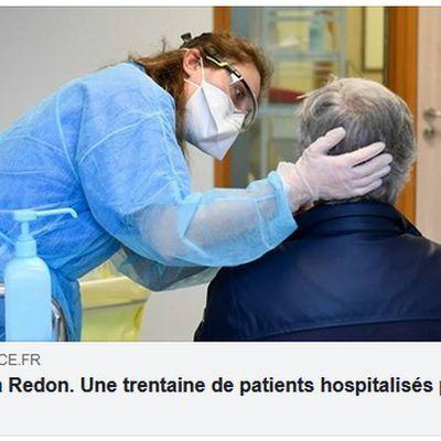 Covid-19 à Redon. Une trentaine de patients hospitalisés par semaine