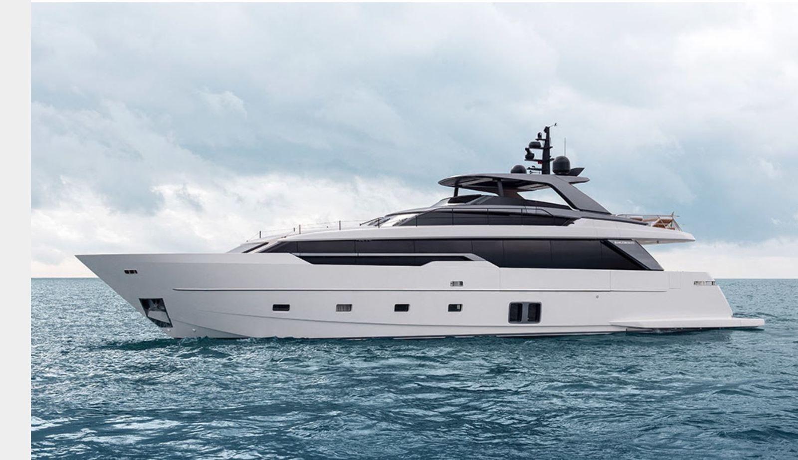 The First Sanlorenzo SL96 Asymmetric sold in Asia by Simpson Marine into Hong-Kong