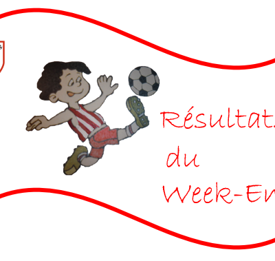 Résultats du weekend