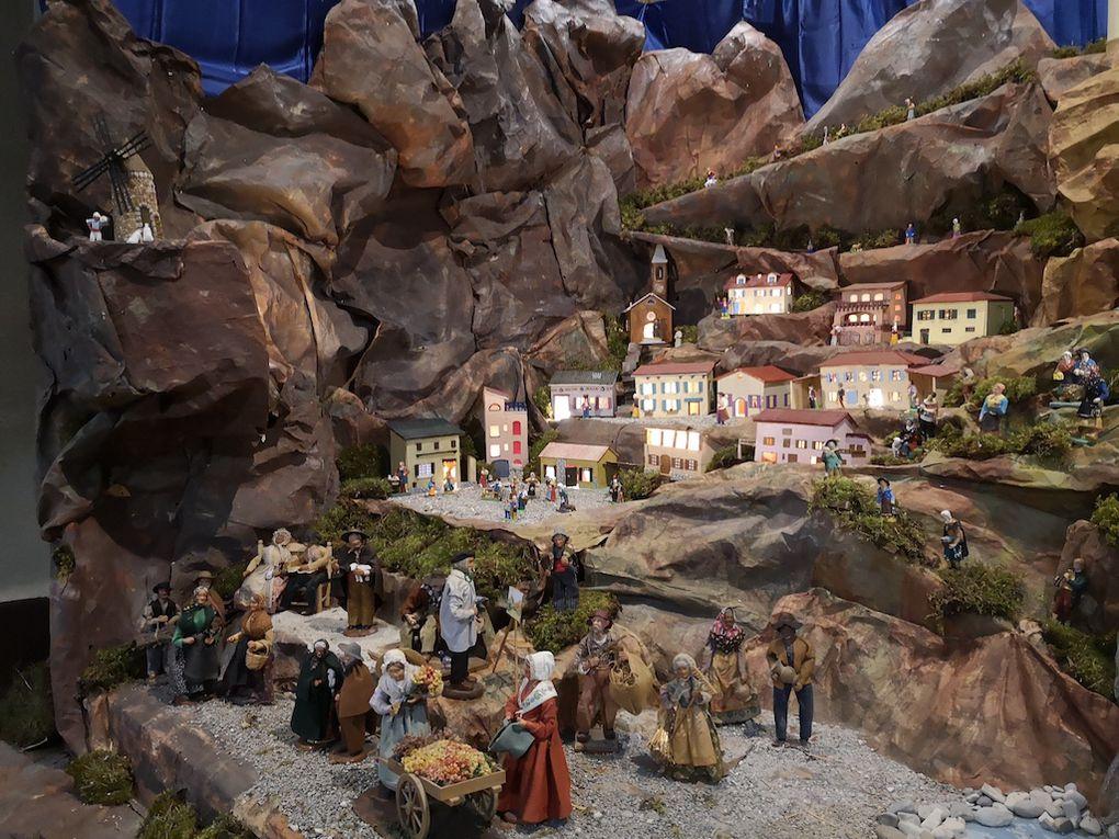 St André les Alpes  : La crèche est installée