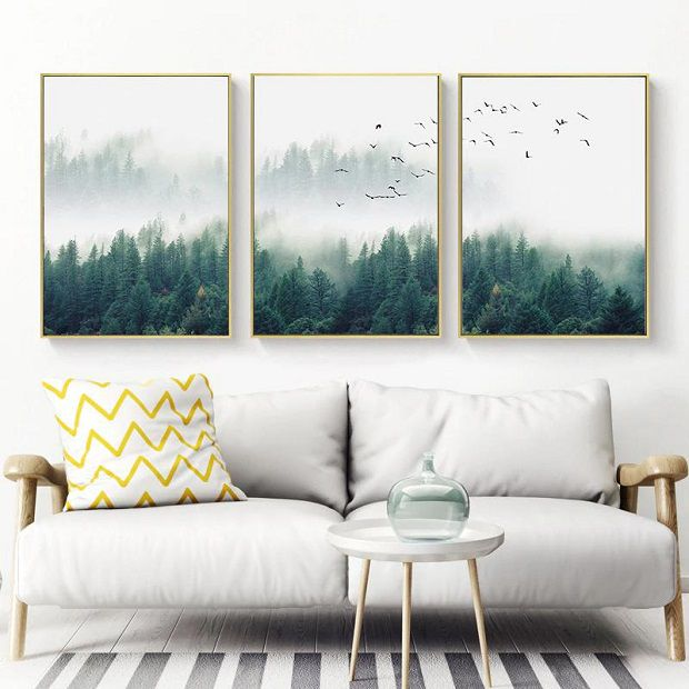 Landscape posters of nature