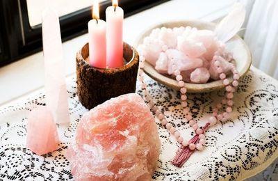 Ces cristaux bienfaisants de couleur rose