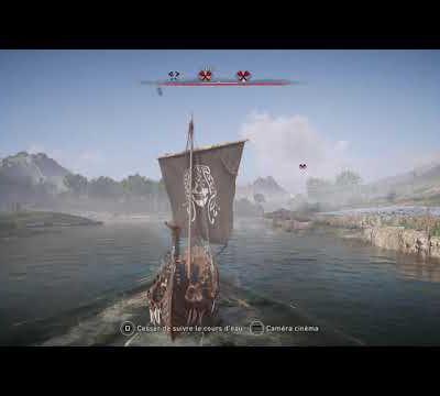 Assassin's Creed® Valhalla - Attaques fluviales - Fleuve Erriff