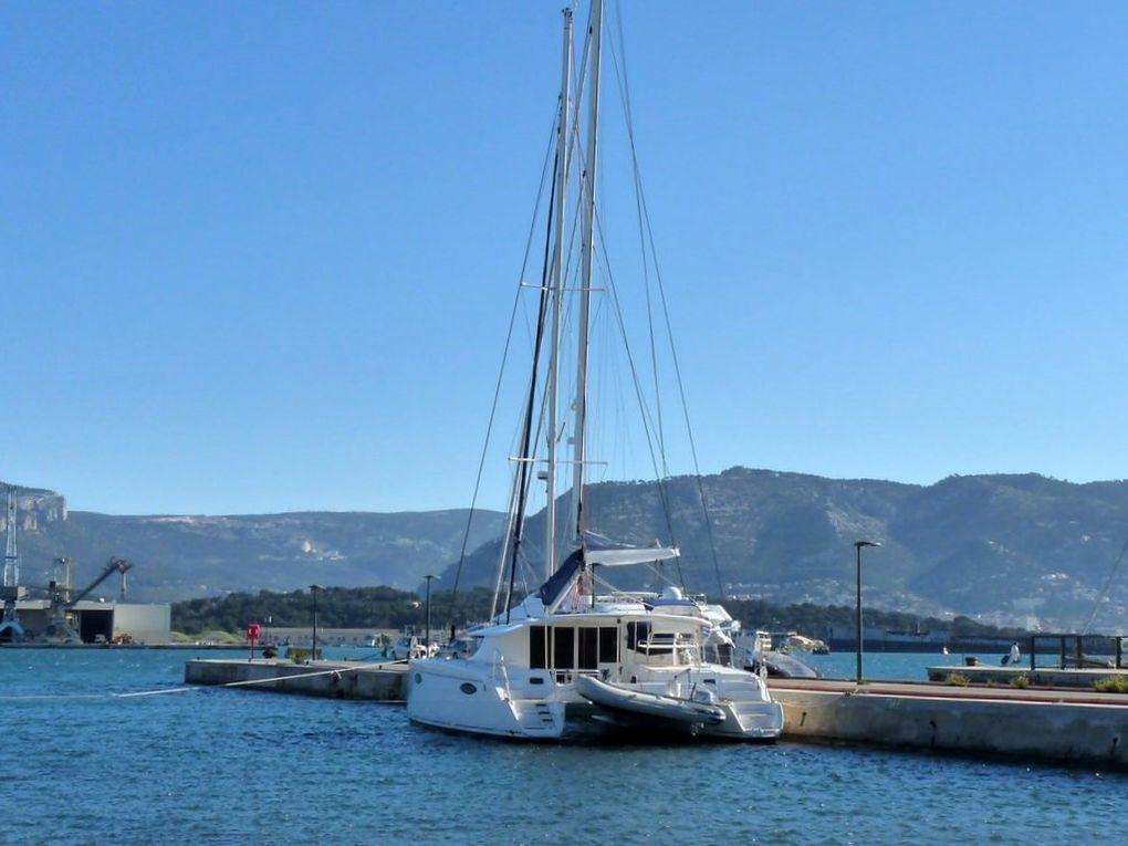 MARIELA , dans le port de la Seynze sur Mer