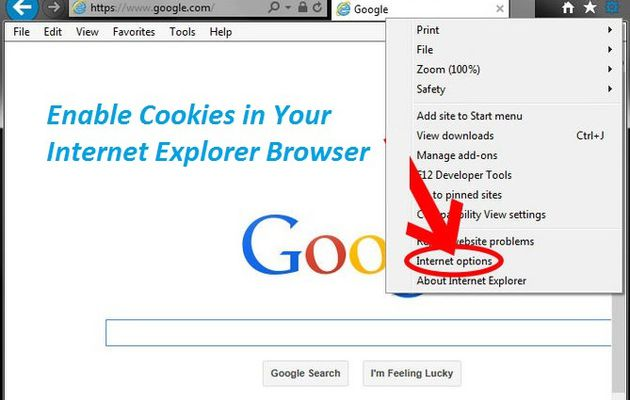 How to Enable Cookies in Your Internet Explorer Browser?
