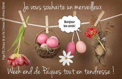 Bonne fêtes de pâques à tous....