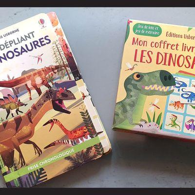 Les dinosaures re-débarquent aux Editions Usborne