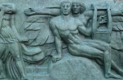 Bourdelle - Paris Theatre des Champs-Elysees Bas-reliefs
