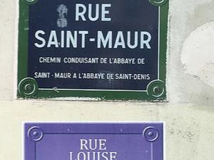 Exemples de nouveaux panneaux et d'actions de Nous Toutes (Wikipedia, noms de rues féminins)