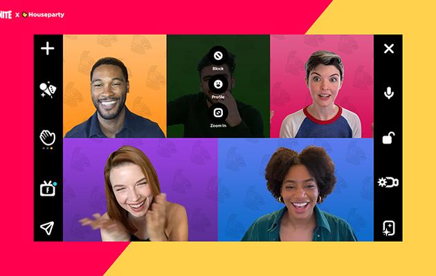[ACTUALITE] Fortnite - Houseparty débarque avec l'appel vidéo