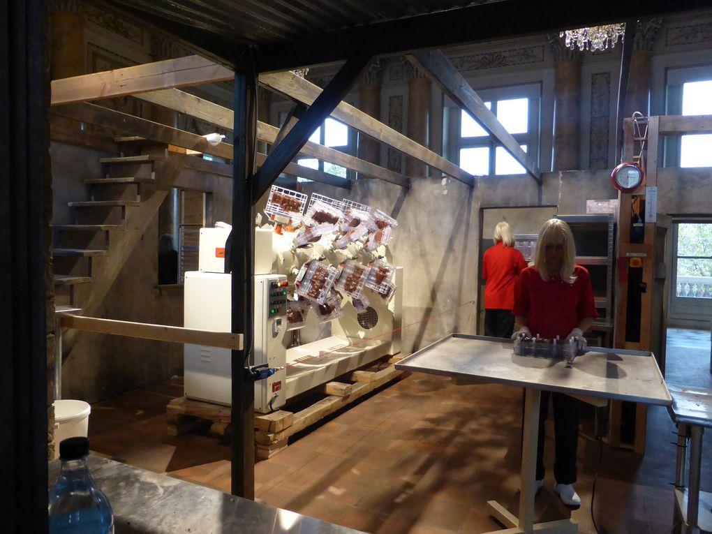 Chocolate Factory. Paul McCarthy© photographie Le curieux des arts Gilles Kraemer, 2014, Monnaie de Paris, Paris