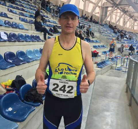 GERARD VICE CHAMPION REGIONAL DE MARCHE ATHLETIQUE A MIRAMAS