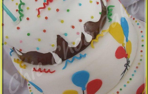 Tuto à venir sur le blog : pièce montée anniversaire....