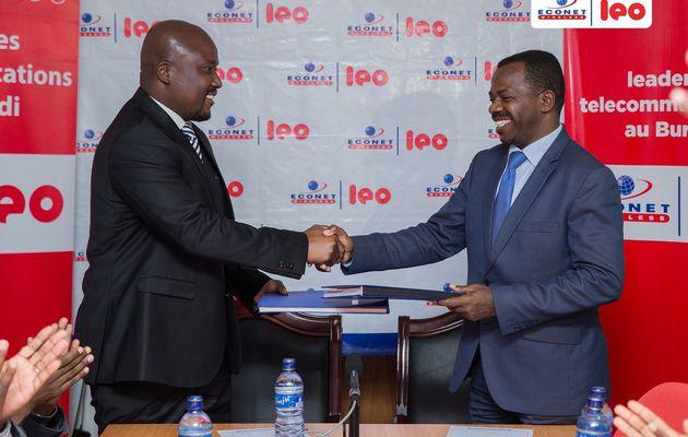Signature d'un accord de confidentialité entre la RTNB et ECONET LEO