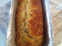 Cake salé aux oignons doux des Cévennes à l'huile d'olive QuintenSens jeunes actifs bio .