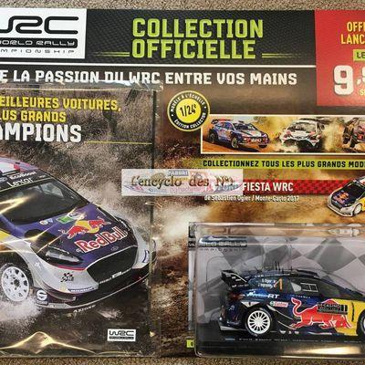 Hachette : Collection officielle WRC à l'échelle 1/24