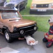 TALBOT MATRA RANCHO AS COGNAC METALLISE SOLIDO 1/43 - car-collector.net