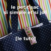 DIY - le petit sac ultra facile qui sert à tout [tuto] - Pikebou