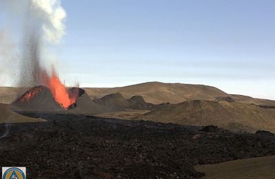 Activity in Fagradalsfjall, Telica and La Fournaise.