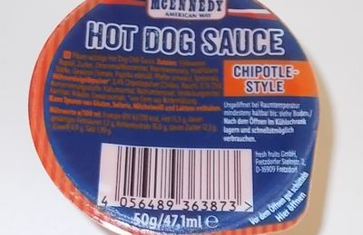 [Lidl] McEnnedy Hot Dog Sauce Chipotle-Style