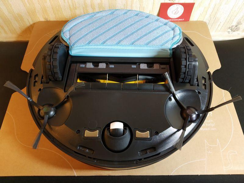 découverte de l'aspirateur robot 2-en-1 connecté - Yeedi 2 Hybrid @ Tests et Bons Plans