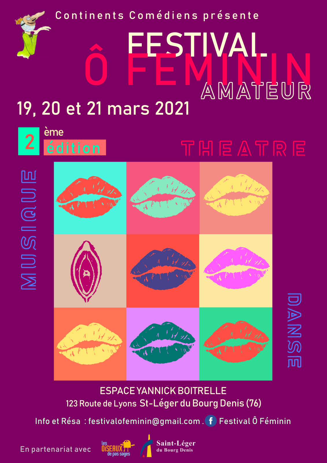 festival Ô Féminin - 2ème édition !!!