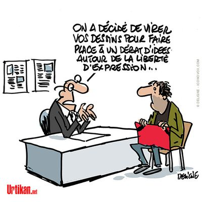 Soutient au dessinateur Marc LARGE