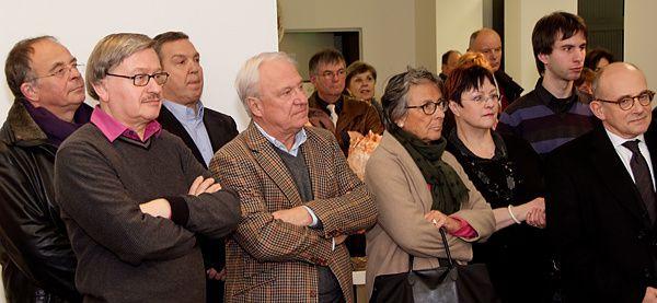 Vernissage de l'exposition de Jean-Claude Zannoni à Thionville