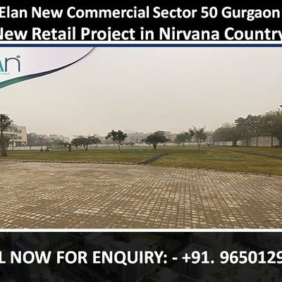 Elan New Commercial Sector 50 Gurgaon || 9650129697