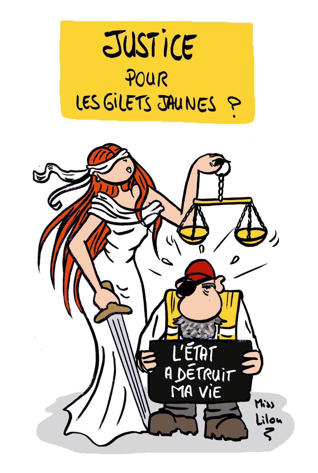 Justice pour les gilets jaunes ?