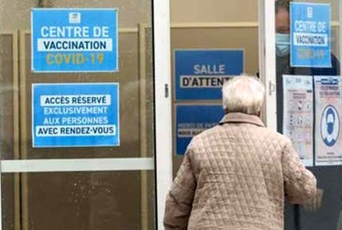 Covid-19 - Vaccination + 75 Ans : Dron, St Roch, Nord (20 Janv. 2021).