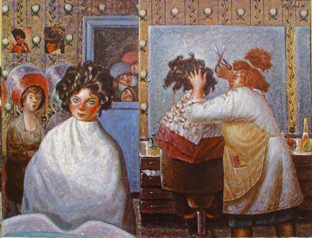 Vasily Kolotev, peintre ''anti-soviétique''