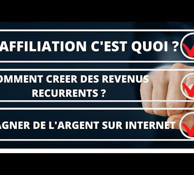 AFFILIATION - Affiliation Marketing - C'est quoi ? Comment ça marche ?