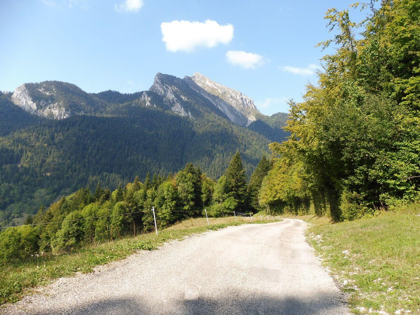 Randonnées dans le Massif de La Chartreuse.