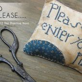 The Primitive Hare: Freebie: Please enter your pin!