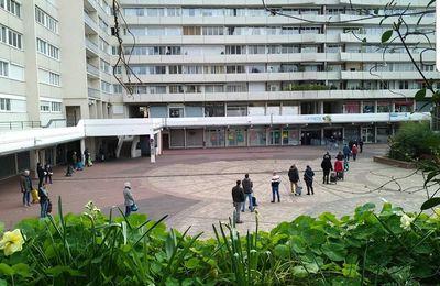 Marché du centre à Colombes : respect des gestes barrières
