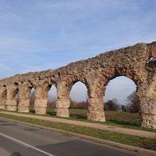 L'aqueduc romain du Gier à Chaponost
