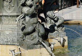 Scène de rue - L'ange Boufaréù