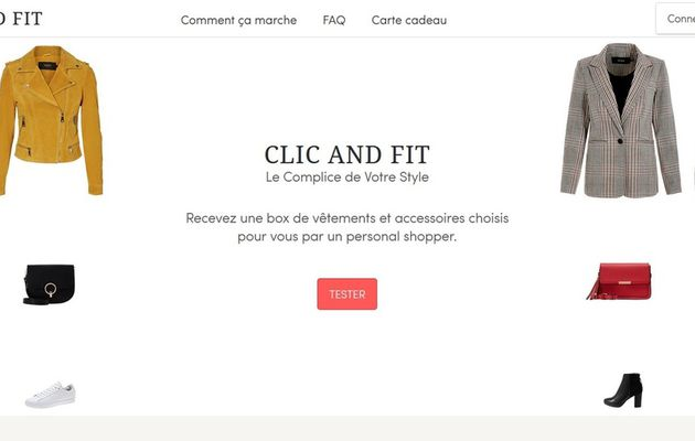 Clic and Fit - Box de vêtements